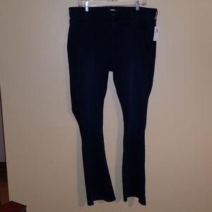 Old navy micro flare dark denim jeans